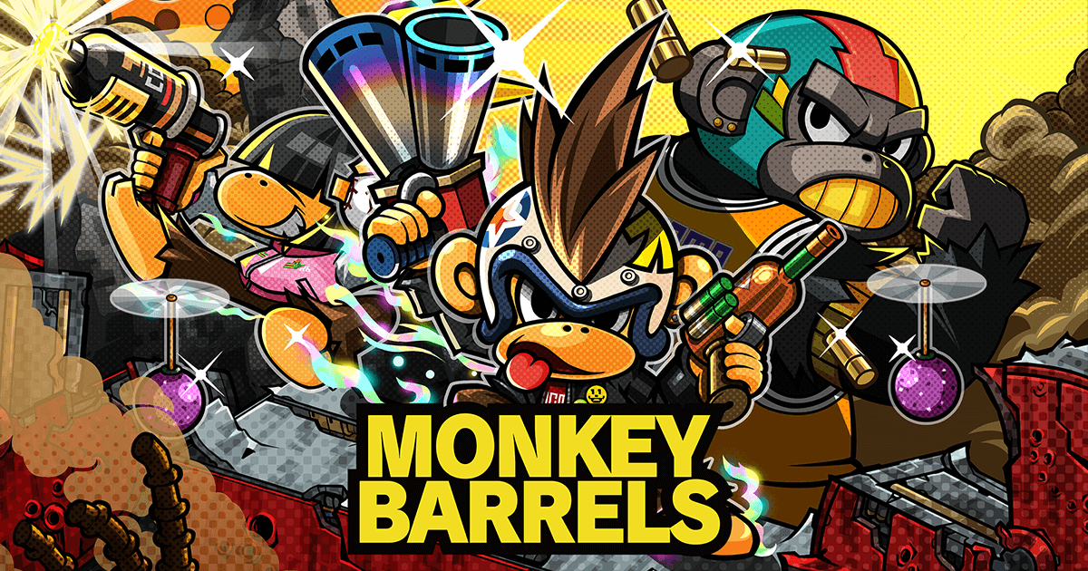 PC版『MONKEY BARRELS(モンキーバレルズ)』本日発売!
